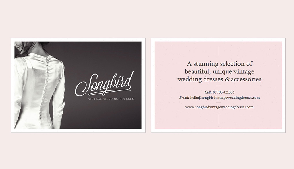 Flyer design for Songbird